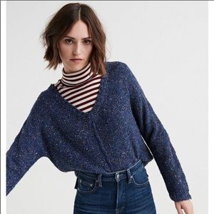 Lucky Brand Multi Color V Neck Sweater